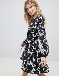Oasis Blossom Print Skater Shirt Dress Multi