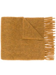 Forte Forte Knitted Scarf Nude And Neutrals