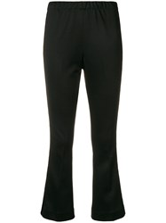 Moncler Flared Track Pants Black