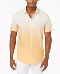 Inc International Concepts I.N.C. Ombre Shirt Yellow Combo