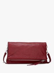 Liebeskind Berlin Aloe Leather Cross Body Bag Phonebox Red
