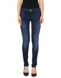 Fifty Four Denim Denim Trousers Women
