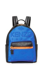 Kenzo Neoprene Backpack Blue