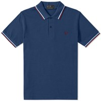 Fred Perry Reissues Original Twin Tipped Polo Blue