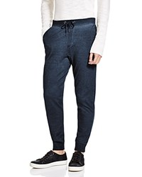 John Varvatos Star Usa Pewter Jogger Sweatpants Indigo