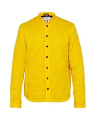 Aztech Mountain Corkscrew Quilted Jacket Yellow