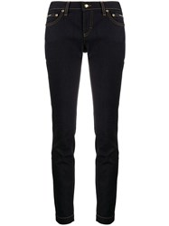 Dolce And Gabbana Logo Plaque Skinny Jeans 60
