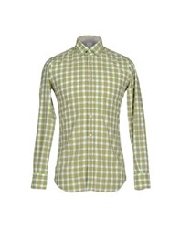 Del Siena Shirts Shirts Men Light Green