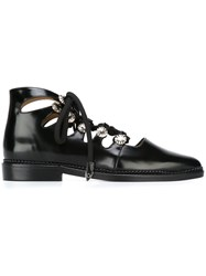 Toga Lace Up Shoes Black