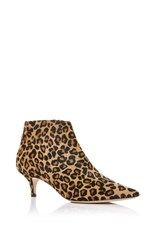 Aerin Pointed Ankle Boot Animal