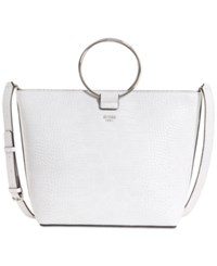 Guess Keaton Crescent Extra Large Tote White