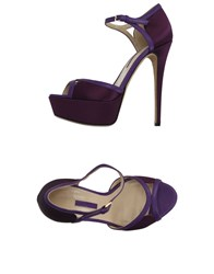 Elie Saab Sandals Purple