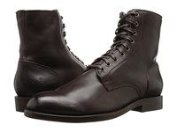 Frye Will Lace Up Dark Brown Men's Lace Up Boots