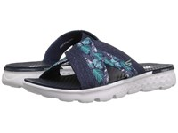 Skechers On The Go 400 Tropical Navy Women's Sandals