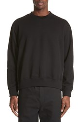 3.1 Phillip Lim Reconstructed Crewneck Sweatshirt Black
