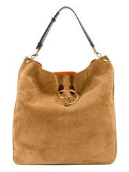 J.W.Anderson Large Pierce Tote Bag Brown
