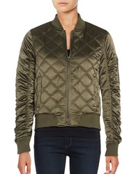 Weatherproof Quilted Bomber Jacket Olive