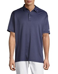 Callaway Golf Performance Jacquard Polo Magnetic Blue