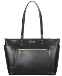 Kenneth Cole Reaction Faux Leather 15.0 Computer Tote Black