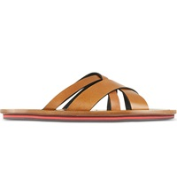 Danward Leather Sandals Tan