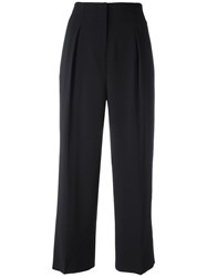 Elizabeth And James High Waisted Trousers Black