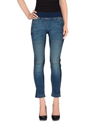 Neil Barrett Denim Denim Trousers Women