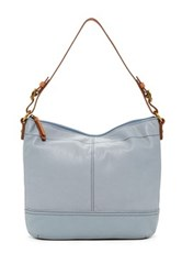 Fossil Tilly Leather Hobo Blue