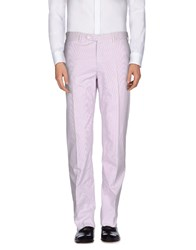 Burberry London Trousers Casual Trousers Men Lilac