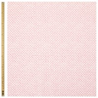 Unbranded Textured Dot Print Fabric Pink