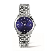 Longines Flagship Date Watch Unisex Blue