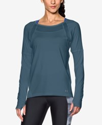 Under Armour Sport Long Sleeve Training Top Marlin Blue