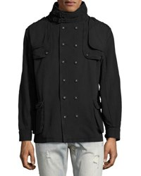 One Teaspoon Mr. Tommy Double Breasted Jacket Black