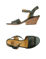 Moma Sandals Green