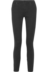 Tom Ford Mid Rise Skinny Jeans Black