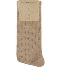 Falke No 2 Silk Sock 4170 Brownie Me