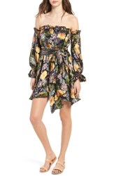 For Love And Lemons Women's Luciana Strapless Fit Flare Dress