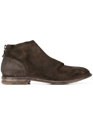 Moma Classic Ankle Boots Brown