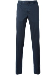 Incotex Classic Chino Trousers Blue