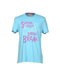 Fred Mello T Shirts Sky Blue