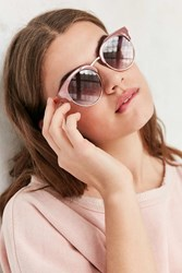 Urban Outfitters Samantha Catmaster Sunglasses Mauve