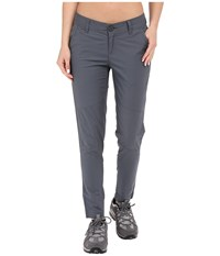 Mountain Hardwear Wandering Ankle Pants Graphite Women's Casual Pants Gray