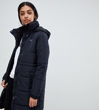 Puma Essentials Padded Long Black Coat