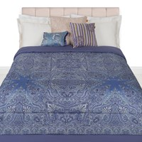 Etro Chelsea Quilted Bedspread 270X270cm Purple