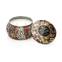 Voluspa Maison Noir 2 Wick Candle In Tin Pomegranate Blood Orange