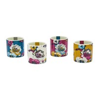 Joules Multi Poppy Posy Egg Cups Set Of 4