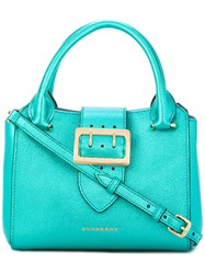 Burberry Big Buckle Tote Bag Green
