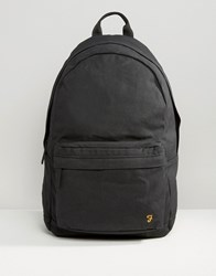 Farah Canvas Backpack Black Black