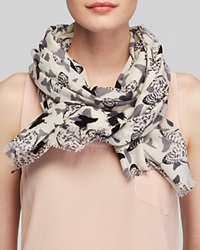 Lola Rose Textured Abstract Butterfly Scarf