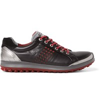 Ecco Golf Biom Hybrid 2 Leather Golf Shoes Black