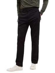 Jaeger Lou Dalton Textured Trousers Navy
